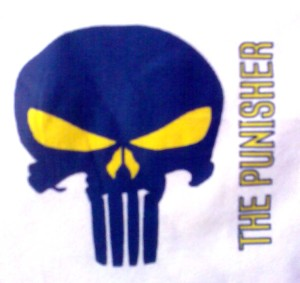 Punisher Sublim Transpaper